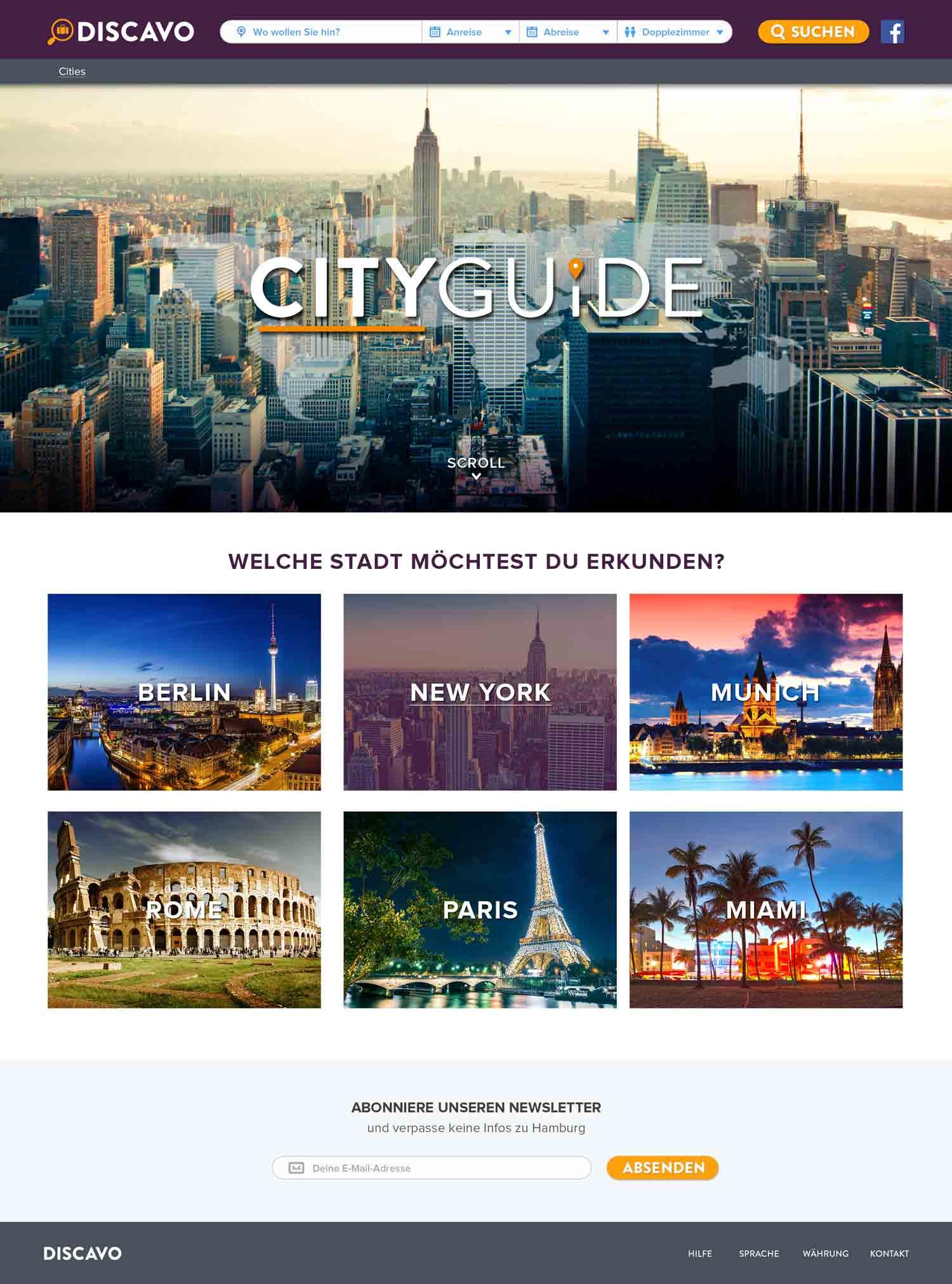 CityGuideHome