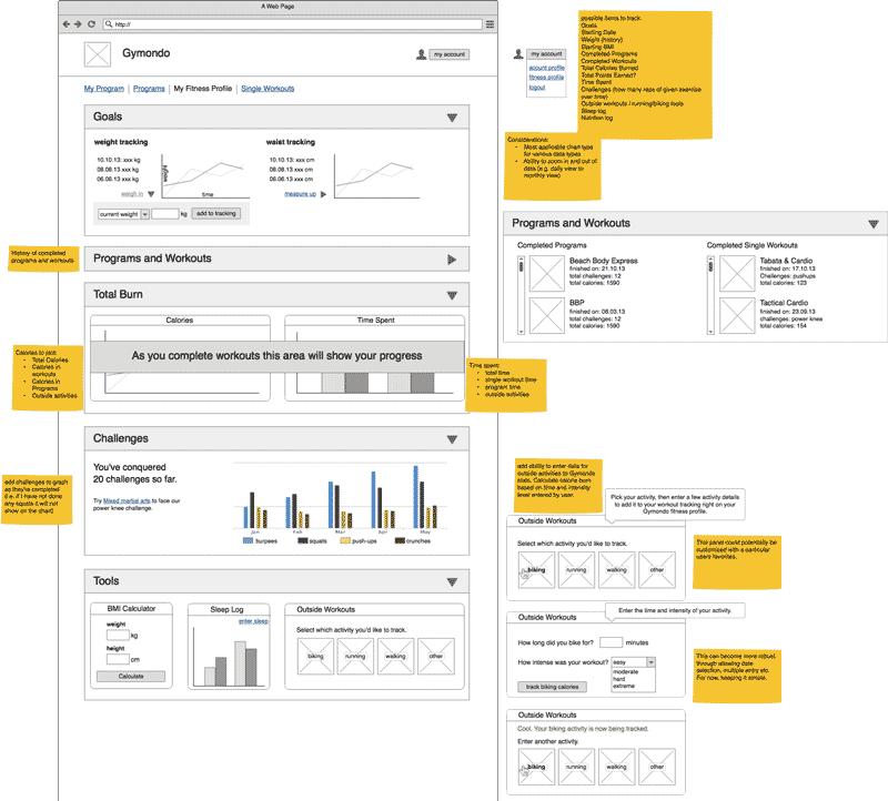 gymondo-statistics-profile-ux